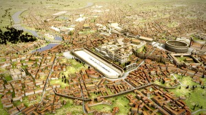 image of Rome reborn project