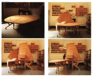 Photos of the table from El Croquis magazine