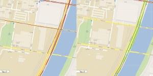 google traffic comparison