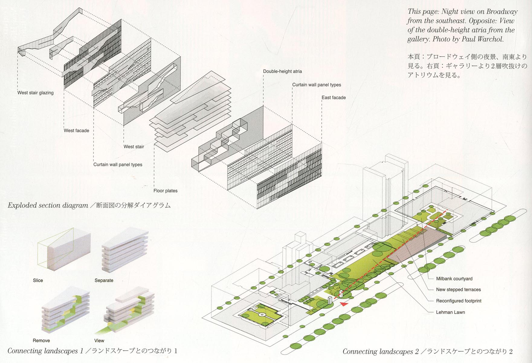 0209 the diana center barnard college adam achrati section diagrams from architecture ccuart Images