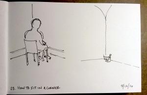 25 Sit in the Corner